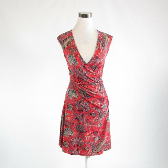 Ralph Lauren Dresses & Skirts - Ralph Lauren orange A-line dress PXS